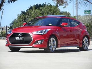 2017 Hyundai Veloster FS5 Series II SR Coupe D-CT Turbo 7 Speed Sports Automatic Dual Clutch