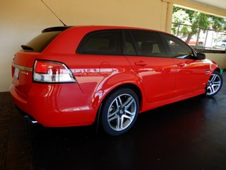 2012 Holden Commodore VE II MY12 SV6 Red 6 Speed Automatic Sportswagon