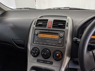 2008 Toyota Corolla ZRE152R Ascent Black 6 Speed Manual Hatchback