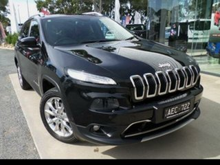 2014 Jeep Cherokee KL Limited (4x4) 9 Speed Automatic Wagon.