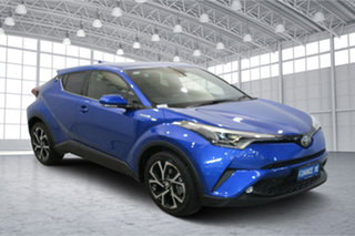 2019 Toyota C-HR NGX10R Koba S-CVT 2WD Blue 7 Speed Constant Variable Wagon.
