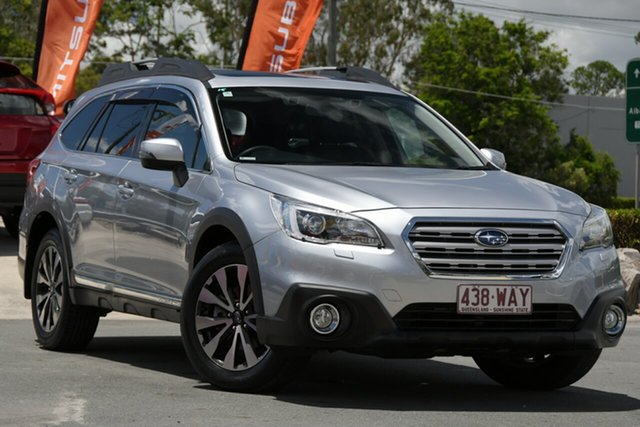 Used Subaru Outback B6A MY15 3.6R CVT AWD Aspley, 2015 Subaru Outback B6A MY15 3.6R CVT AWD Silver 6 Speed Constant Variable Wagon