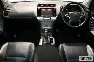 2018 Toyota Landcruiser Prado GDJ150R MY18 VX (4x4) Pearl White 6 Speed Automatic Wagon