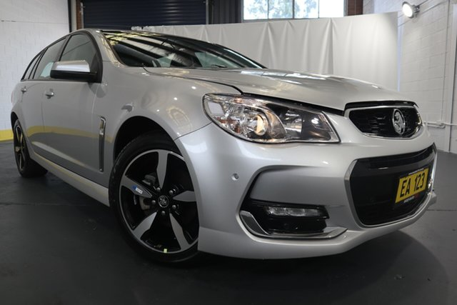 Used Holden Commodore VF II MY17 SV6 Sportwagon Castle Hill, 2017 Holden Commodore VF II MY17 SV6 Sportwagon Silver 6 Speed Sports Automatic Wagon