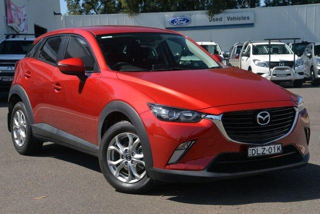 Used Mazda CX-3 DK2W7A Maxx SKYACTIV-Drive West Gosford, 2017 Mazda CX-3 DK2W7A Maxx SKYACTIV-Drive Red 6 Speed Sports Automatic Wagon