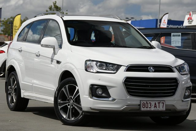 Used Holden Captiva CG MY17 LTZ AWD Aspley, 2016 Holden Captiva CG MY17 LTZ AWD White 6 Speed Sports Automatic Wagon