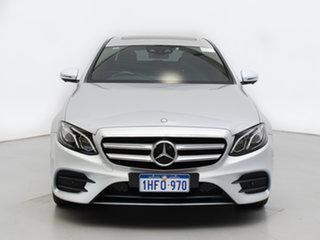 2017 Mercedes-Benz E220 213 D Silver 9 Speed Automatic G-Tronic Sedan.