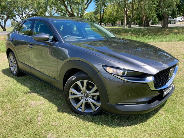 Used Mazda CX-30 DM2WLA G25 SKYACTIV-Drive Touring South Grafton, 2019 Mazda CX-30 DM2WLA G25 SKYACTIV-Drive Touring Grey 6 Speed Sports Automatic Wagon