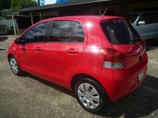 2009 Toyota Yaris NCP91R MY09 YRS Red 4 Speed Automatic Hatchback