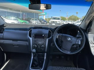 2013 Holden Colorado RG LX (4x2) White 5 Speed Manual Crew Cab Chassis