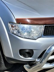2009 Mitsubishi Challenger PB (KH) MY10 LS Silver 5 Speed Sports Automatic Wagon