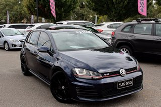 2013 Volkswagen Golf VII MY14 GTI DSG Blue 6 Speed Sports Automatic Dual Clutch Hatchback.
