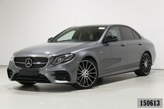 2017 Mercedes-AMG E43 213 MY18 4Matic+ Selenite Grey 9 Speed Automatic G-Tronic Saloon.
