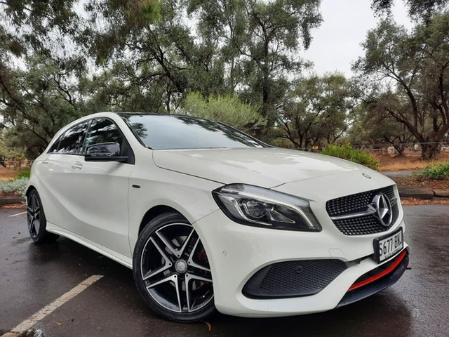 Used Mercedes-Benz A-Class W176 806MY A250 D-CT 4MATIC Sport Adelaide, 2016 Mercedes-Benz A-Class W176 806MY A250 D-CT 4MATIC Sport White 7 Speed