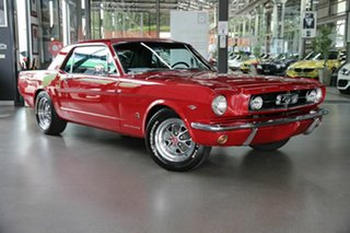 1965 Ford Mustang MY1965 Maroon 3 Speed Automatic Hardtop.