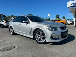 2016 Holden Commodore VF II MY16 SV6 Silver 6 Speed Sports Automatic Sedan