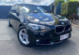 2013 BMW 1 Series F20 118i Black 8 Speed Sports Automatic Hatchback.