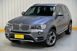 2015 BMW X3 F25 LCI xDrive20d Steptronic Silver 8 Speed Automatic Wagon.