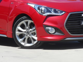 2017 Hyundai Veloster FS5 Series II SR Coupe D-CT Turbo 7 Speed Sports Automatic Dual Clutch.