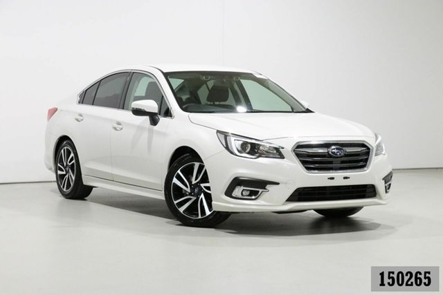 Used Subaru Liberty MY20 2.5i AWD Bentley, 2019 Subaru Liberty MY20 2.5i AWD White Continuous Variable Sedan