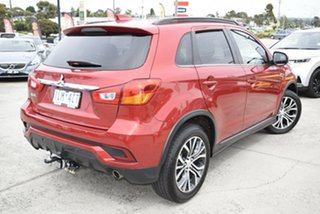 2017 Mitsubishi ASX XC MY17 LS 2WD Red/Black 6 Speed Constant Variable Wagon