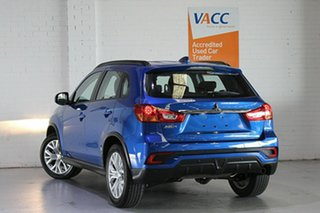 2019 Mitsubishi ASX XC MY19 ES 2WD ADAS Blue 1 Speed Constant Variable Wagon.