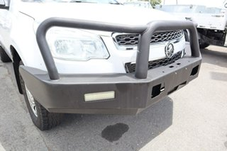 2015 Holden Colorado RG MY15 LS Crew Cab 4x2 White 6 Speed Manual Cab Chassis