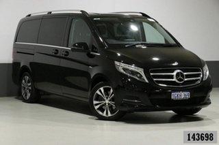 2017 Mercedes-Benz V250d 447 MY17 Avantgarde MWB Black 7 Speed Automatic Wagon.