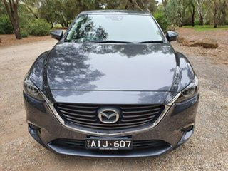 2016 Mazda 6 GJ Series 2 Touring Grey Sports Automatic Sedan