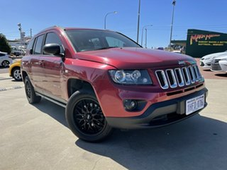 2015 Jeep Compass MK MY15 Sport CVT Auto Stick Red 6 Speed Constant Variable Wagon.