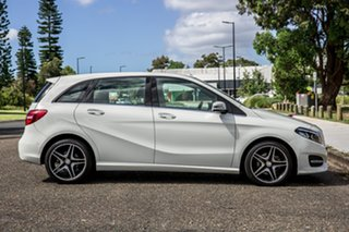 2015 Mercedes-Benz B-Class W246 806MY B180 DCT White 7 Speed Sports Automatic Dual Clutch Hatchback