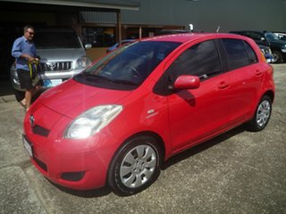 2009 Toyota Yaris NCP91R MY09 YRS Red 4 Speed Automatic Hatchback.