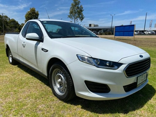 Used Ford Falcon FG X Ute Super Cab Ravenhall, 2016 Ford Falcon FG X Ute Super Cab White 6 Speed Sports Automatic Utility