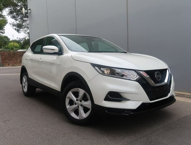 Used Nissan Qashqai J11 Series 2 ST X-tronic Reynella, 2019 Nissan Qashqai J11 Series 2 ST X-tronic White 1 Speed Constant Variable Wagon