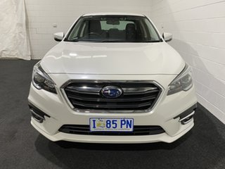 2019 Subaru Liberty B6 MY19 2.5i CVT AWD White 6 Speed Constant Variable Sedan.