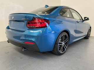 2020 BMW 2 Series F22 LCI M240I Long Beach Blue 8 Speed Sports Automatic Coupe