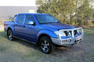 2013 Nissan Navara D40 S6 MY12 ST Blue 6 Speed Manual Utility
