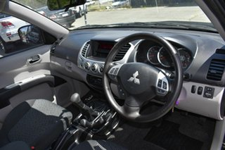 2012 Mitsubishi Triton MN MY12 GLX-R (4x4) Black 5 Speed Manual 4x4 Double Cab Utility