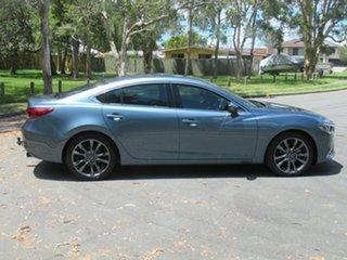 2015 Mazda 6 GJ1032 GT SKYACTIV-Drive Blue 6 Speed Sports Automatic Sedan.