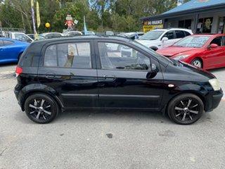 2005 Hyundai Getz TB GL Black 5 Speed Manual Hatchback.