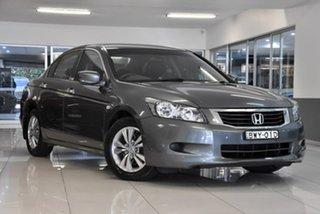 2010 Honda Accord 8th Gen MY10 VTi-L Grey 5 Speed Sports Automatic Sedan.