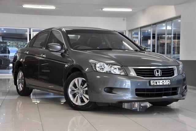 Used Honda Accord 8th Gen MY10 VTi-L Waitara, 2010 Honda Accord 8th Gen MY10 VTi-L Grey 5 Speed Sports Automatic Sedan