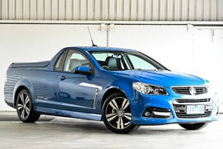 2015 Holden Ute VF MY15 SV6 Ute Storm Blue 6 Speed Sports Automatic Utility.