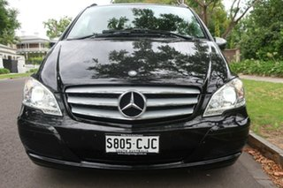 2012 Mercedes-Benz Viano 639 MY12 BlueEFFICIENCY Black 5 Speed Automatic Wagon.