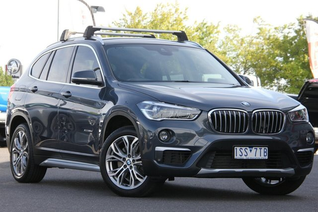 Used BMW X1 F48 xDrive20d Steptronic AWD Essendon North, 2015 BMW X1 F48 xDrive20d Steptronic AWD Grey 8 Speed Sports Automatic Wagon