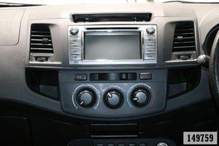 2015 Toyota Hilux KUN26R MY14 SR (4x4) Grey 5 Speed Automatic Dual Cab Pick-up