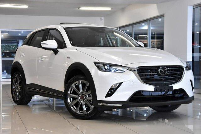 New Mazda CX-3 DK2W7A Waitara, 2020 Mazda CX-3 DK2W7A White 6 Speed Sports Automatic Wagon