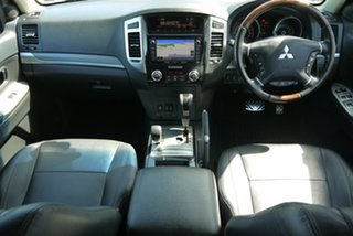 2014 Mitsubishi Pajero NW MY14 Exceed Silver 5 Speed Sports Automatic Wagon.