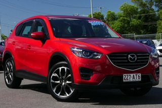 2014 Mazda CX-5 KE1021 MY14 Grand Touring SKYACTIV-Drive AWD Soul Red 6 Speed Sports Automatic Wagon.