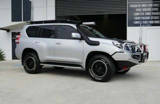 2014 Toyota Landcruiser Prado KDJ150R MY14 VX Silver 5 Speed Sports Automatic Wagon.